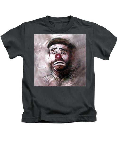 Emmit Kelly Clown Kids T-Shirt