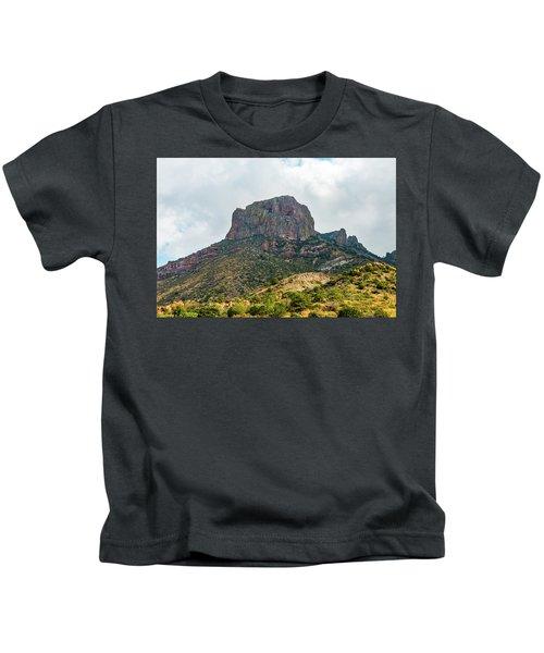 Emory Peak Chisos Mountains Kids T-Shirt