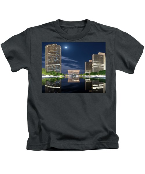 Empire State Plaza Kids T-Shirt