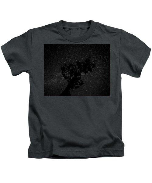 Empty Night Tree Kids T-Shirt