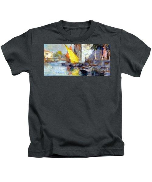 En Plein Air In Venice Kids T-Shirt