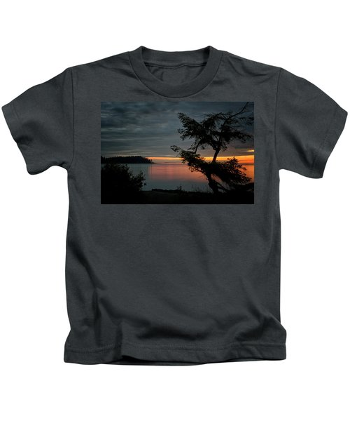 End Of The Trail Kids T-Shirt