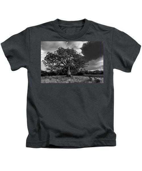Engellman Oak Palomar Black And White Kids T-Shirt