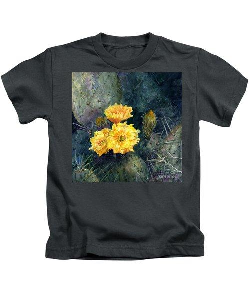 Engelmann Prickly Pear Cactus Kids T-Shirt