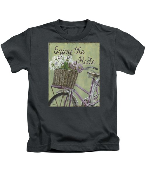 Enjoy The Ride Kids T-Shirt