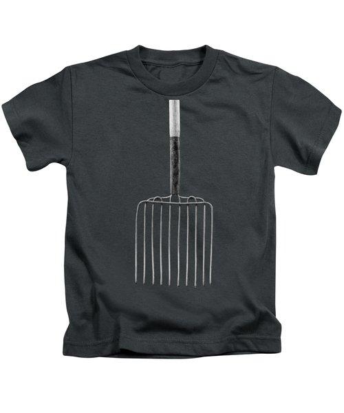 Ensilage Fork I Kids T-Shirt