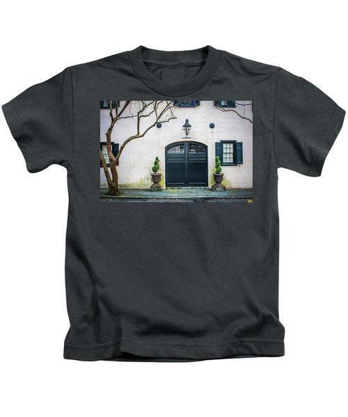 Enter Here Kids T-Shirt