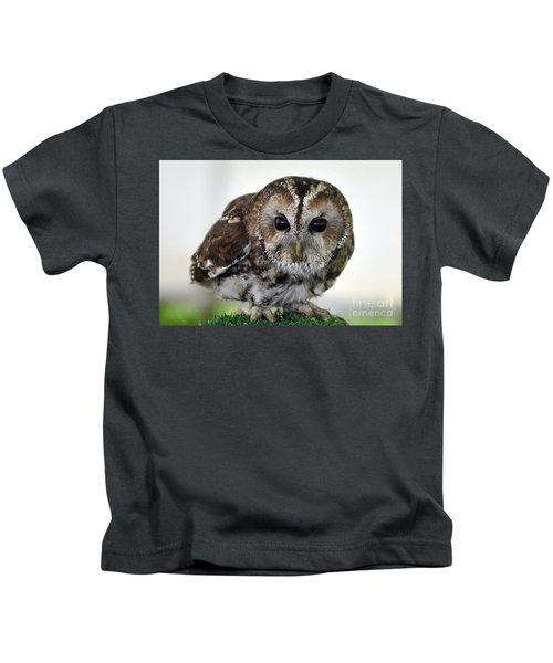 Eurasian Tawny Owl Kids T-Shirt