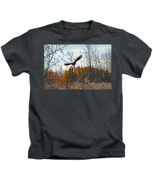 Evanescent Beauty Of Woodlands Kids T-Shirt