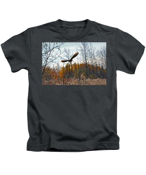 Evanescent Beauty Of Woodlands Kids T-Shirt