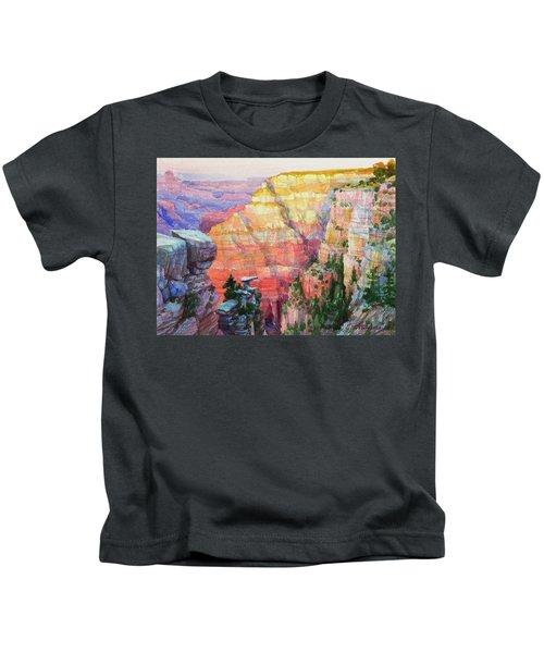 Evening Colors  Kids T-Shirt