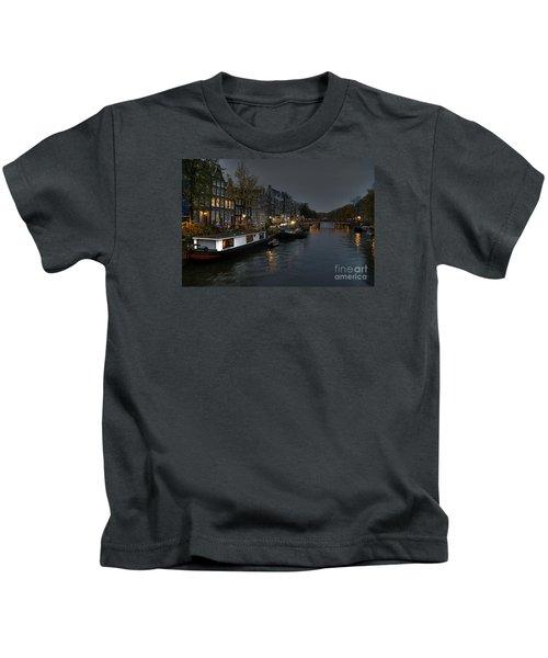 Evening In Amsterdam Kids T-Shirt