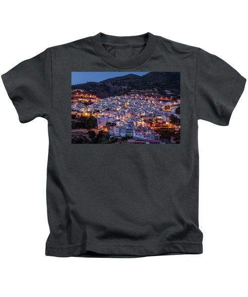 Evening In Competa Kids T-Shirt