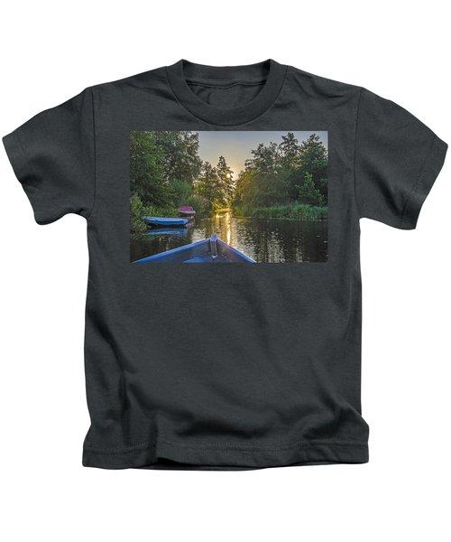 Evening In Loosdrecht Kids T-Shirt