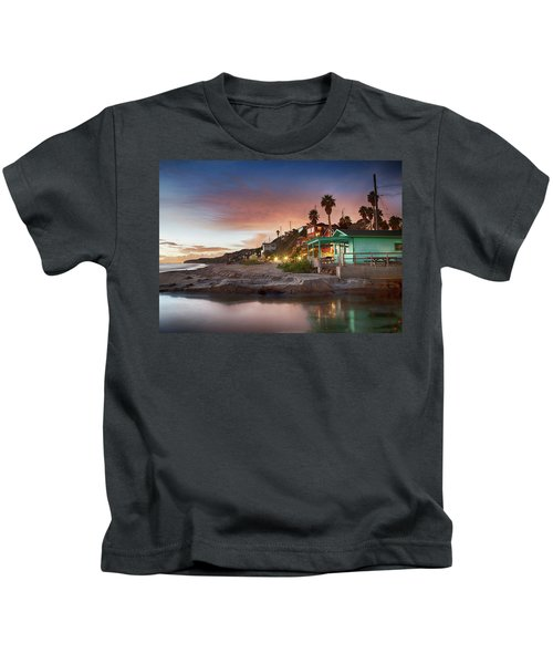 Evening Reflections, Crystal Cove Kids T-Shirt