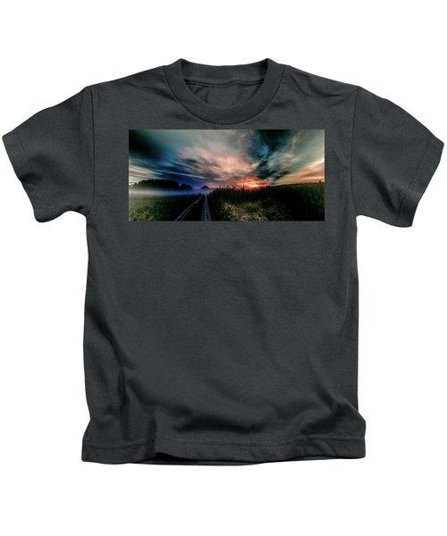 Explosive Morning #h0 Kids T-Shirt