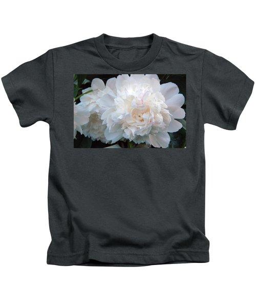 Extravagant Peony Kids T-Shirt