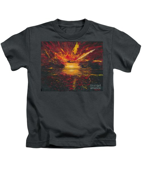 Eye Of The Storm Kids T-Shirt