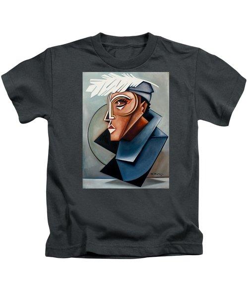 Eye Of The Watched Divine / Zora Neale Hurston Kids T-Shirt