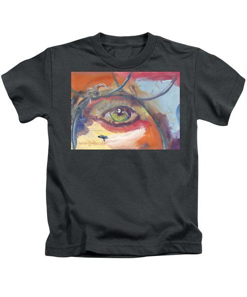 Eye See A Bird Kids T-Shirt