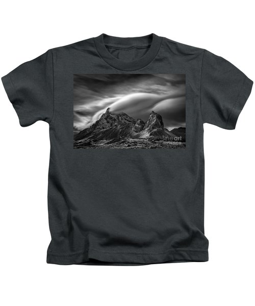 Eystrahorn, Iceland Kids T-Shirt