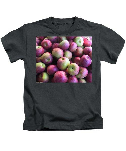 Fabulous Fall Fruits Kids T-Shirt