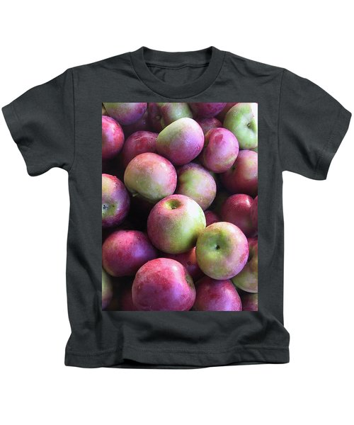 Fabulous Fall Fruits Kids T-Shirt