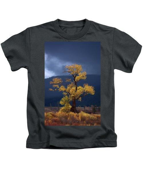 Facing The Storm Kids T-Shirt