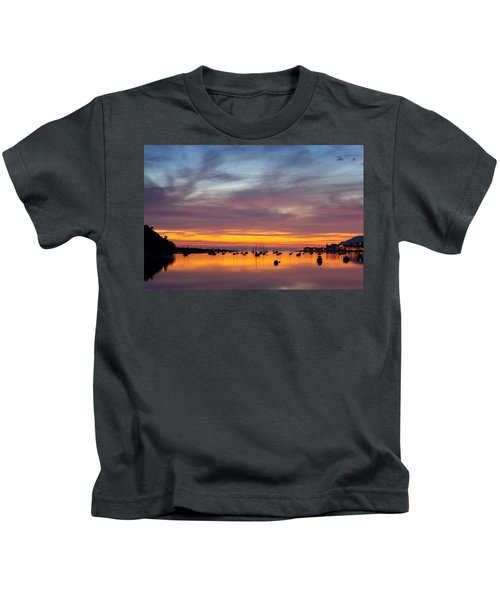 Fading Light, Conwy Estuary Kids T-Shirt