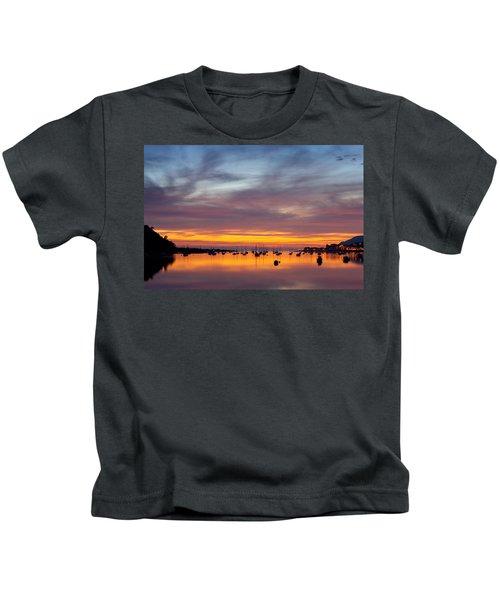 Fading Light, Conwy Estuary Kids T-Shirt