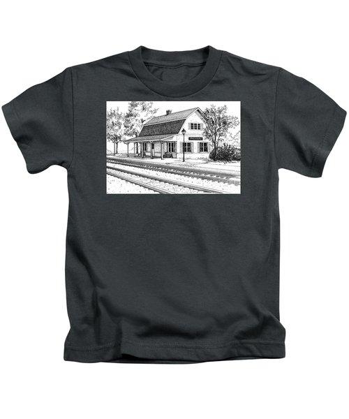 Fairview Ave Train Station Kids T-Shirt