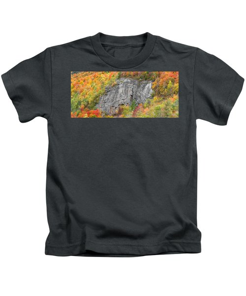 Fall Climbing Kids T-Shirt