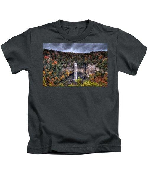 Fall Creek Falls Kids T-Shirt