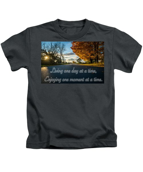 Fall Day With Saying Kids T-Shirt