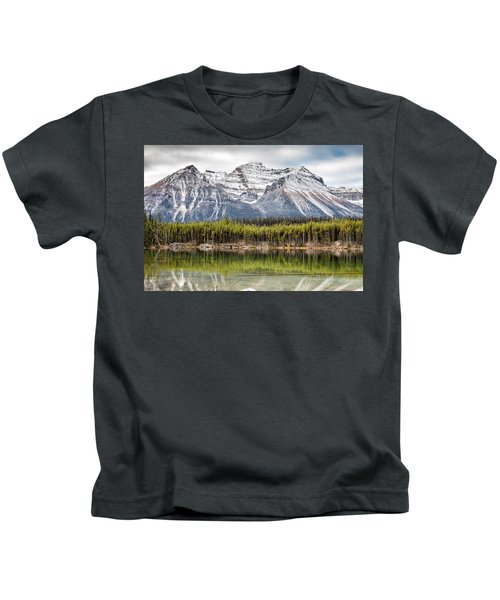 Fall In The Canadian Rockies Kids T-Shirt