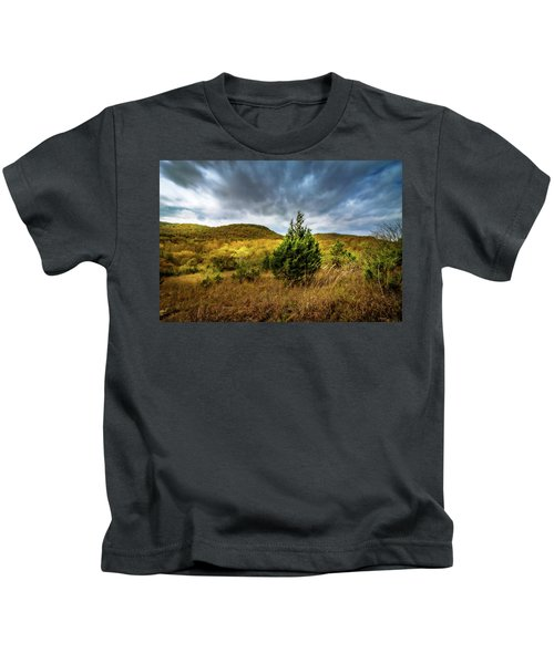 Fall In The Ozarks Kids T-Shirt