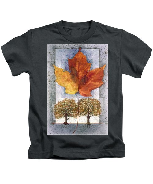 Fall Leaf Kids T-Shirt