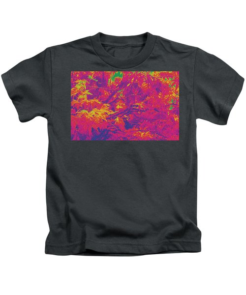 Fall Leaves #14 Kids T-Shirt