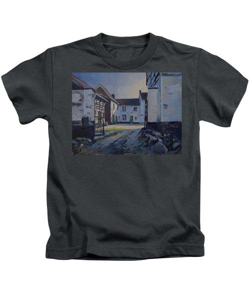Fall Sumbeam Over The Woskoul Kids T-Shirt