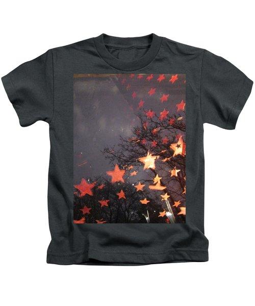 Falling Stars And I Wish.... Kids T-Shirt