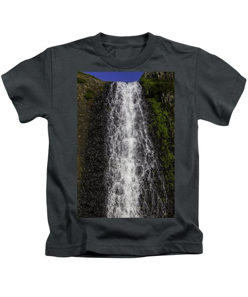 Falls Close Up Kids T-Shirt