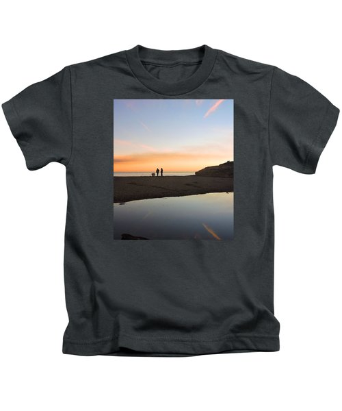 Family Sunset Kids T-Shirt