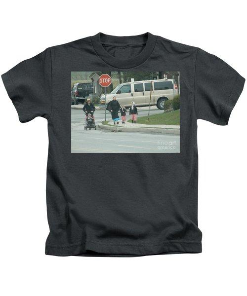 Family Walk Kids T-Shirt