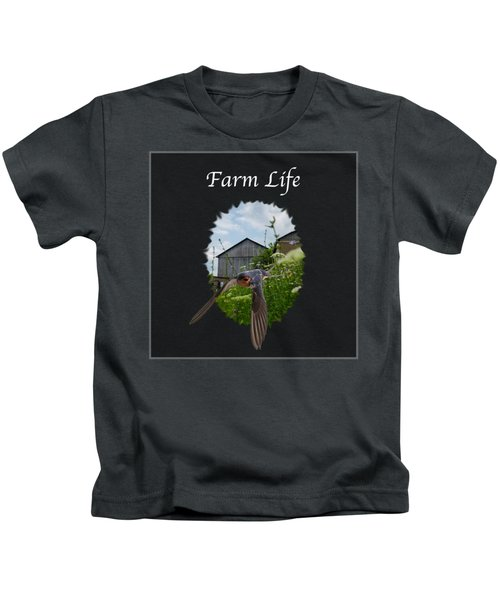 Farm Life Kids T-Shirt
