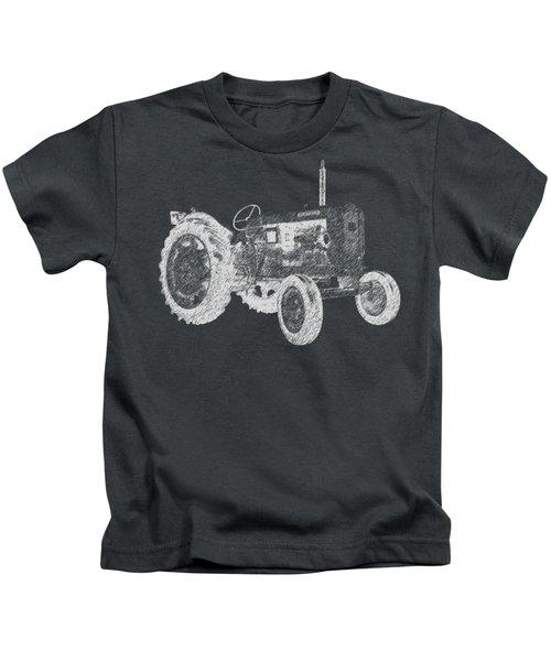 Farm Tractor Tee Kids T-Shirt