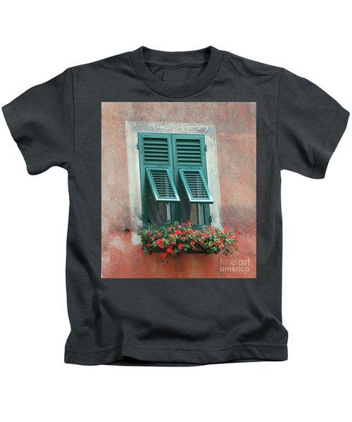 Faux  Painting Window  Kids T-Shirt