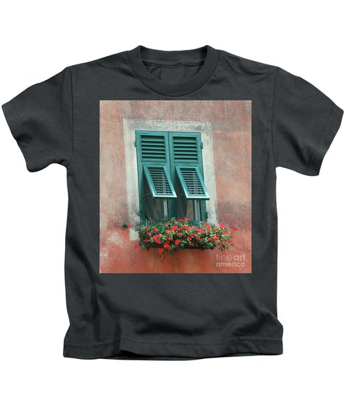 Faux  Painting Window  Kids T-Shirt