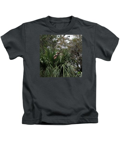 Feather 8-10 Kids T-Shirt by Skip Willits