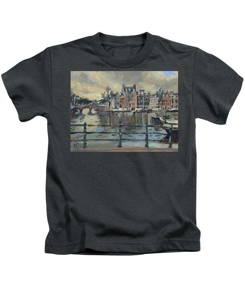 February Morning Along The Amstel Kids T-Shirt