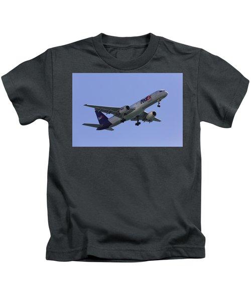 Fedex 757  Kids T-Shirt